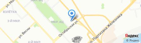 Riva на карте Красноярска