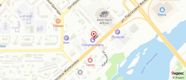 Карта расположения пункта доставки Lamoda/Pick-up в городе Красноярск