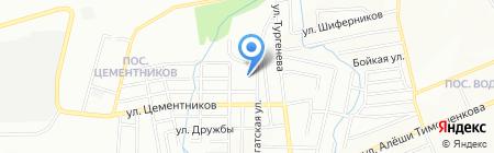 Основная общеобразовательная школа №25 на карте Красноярска