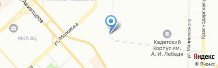 ЮК-АРТ на карте Красноярска
