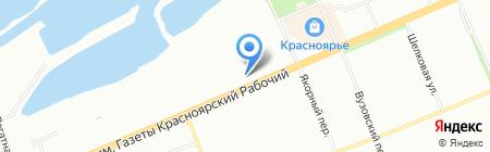 ROS Окна на карте Красноярска