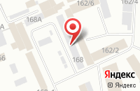 Схема проезда до компании Гилена Лтд в Красноярске