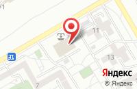 Схема проезда до компании Фисон в Красноярске