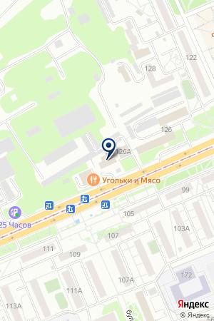КАФЕ АНДРЕЕВСКОЕ на карте Красноярска