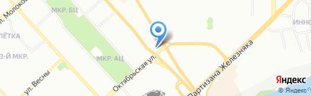 Каприз на карте Красноярска