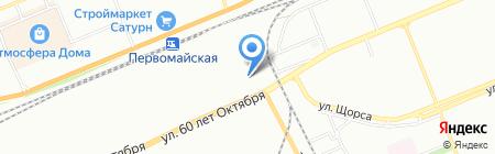 У Андрея на карте Красноярска
