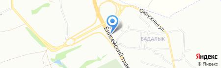 Подшипник-Плюс на карте Красноярска