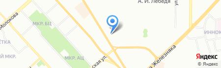 Гламур Авто на карте Красноярска