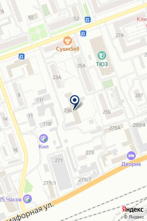 ФГУ МЕДИКО-САНИТАРНАЯ ЧАСТЬ № 46 на карте Красноярска