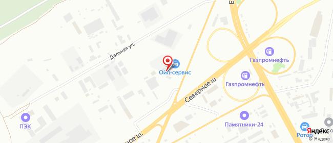 Карта расположения пункта доставки 220 вольт в городе Красноярск