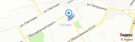 У Артёма на карте Красноярска