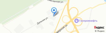 СПЕЦМАШЗАПЧАСТЬ на карте Красноярска
