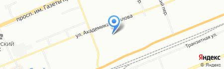 Илия на карте Красноярска