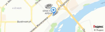 ПромСпецСтрой на карте Красноярска