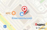 Схема проезда до компании NordTorg в Красноярске