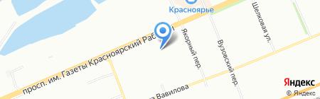 Гармония на карте Красноярска