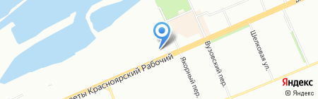 Остек-Системы на карте Красноярска