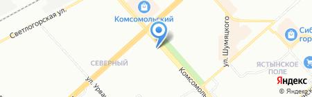 Инвест-Альянс на карте Красноярска