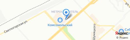 Лица будущего на карте Красноярска