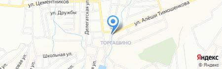Павлик на карте Красноярска