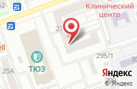 Схема проезда до компании Детсайд в Красноярске