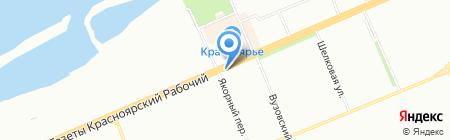 Табалюк Д.В. на карте Красноярска