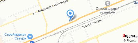 Компания Красэлектро на карте Красноярска