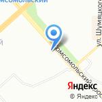 СтройнаЯ на карте Красноярска