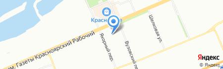 Банкомат АКБ Связь-Банк на карте Красноярска