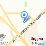А групп на карте Красноярска