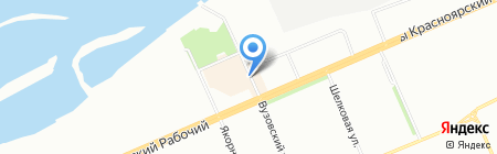 Банкомат Азиатско-Тихоокеанский Банк на карте Красноярска