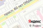 Схема проезда до компании Енисей в Красноярске