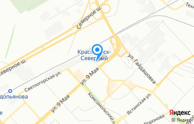 Местоположение на карте пункта техосмотра по адресу г Красноярск, ул Шумяцкого, д 8, пом 1