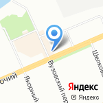 КСЕОН на карте Красноярска