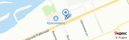 Бирюса-Техно-Быт на карте Красноярска
