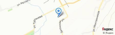 Дун-И на карте Красноярска