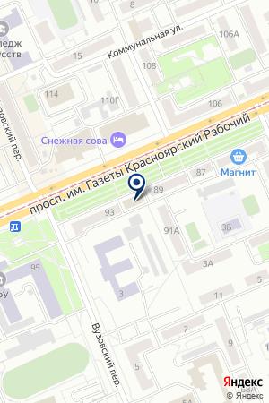 САЛОН-МАГАЗИН ЕТК на карте Красноярска