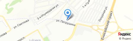 Vitz-сервис на карте Красноярска