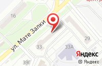Схема проезда до компании Рекламная Группа «Брэнд Фабрика» в Красноярске