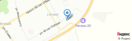 АвтоРемонт на карте Красноярска