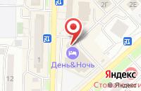 Схема проезда до компании Кристалл в Красноярске