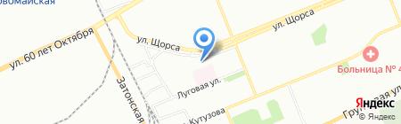 Медика+ на карте Красноярска