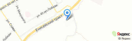 КраТЭК на карте Красноярска