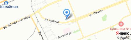 Банкомат РайффайзенБанк на карте Красноярска