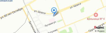 Красноярский хлеб на карте Красноярска