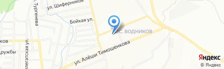 Чистая вода на карте Красноярска