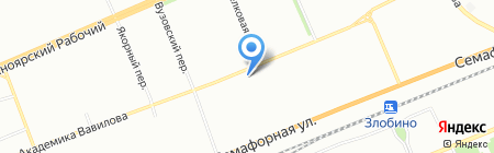 Триумф на карте Красноярска