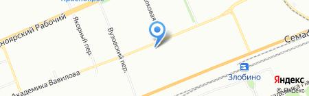 Детская музыкальная школа на карте Красноярска
