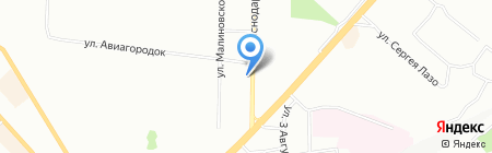 Катерина на карте Красноярска