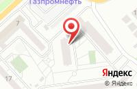 Схема проезда до компании Научно-инновационный центр в Красноярске